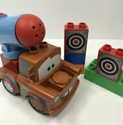 Disney Duplo Lego Agent Tow Mater 5817 Cars Complete Loose Retired Canon Targets