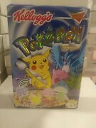 Limited Edition Kellogs Pokemonandnbsp Empty Cereal Box 2000 With Picture Yourself
