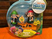 Fisher Price Rock And Roll Bubble Guppies - Nonny And Gil Nickelodeon Retired Nip