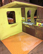 Vintage Retro Foldable Play House 1970's Unknown Maker Child Toys Pretend Play