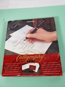 Vintage Sheaffer Calligraphy Fountain Pen Set In Box, W/ Instructions 2 Pens