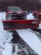 Western 9 Ft Ultra Mount Pro Snow Plow-complete