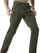 Cqr Menand039s Hiking Work Cargo Pants Water Repellent Ripstop Tactical Pants
