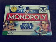 Brand New Sealed Monopoly Board Game Star Wars Galactic Property Trading