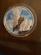 Norse God Freay Goddess Of Love Valkyrie 1 Oz .999 Silver Coin.