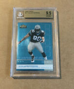 2002 Topps Finest Julius Peppers Rookie Bgs 9.5 Psa 10 Subgrades On The Back
