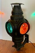 Gtw Adlake Non-sweating Signal Lamp 2-blue/2-amber Electric/switch/1264/mount