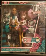 Monster High Draculaura And Clawd Wolf Forbidden Love New Nrfb