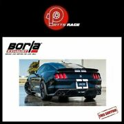 Borla 140684 - Fits 2015-2019 Mustang Shelby Gt350 5.2l Cat-back Exhaust Atak