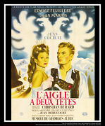 Eagles Has Two Heads Style B 4x6 French Grande Original Movie Poster 1948