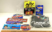 Vintage Snap-on Lot Dealer Only Shirt Large Stickers Decals Vehicles Rick Mears