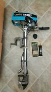 Cruise N Carry Outboard 2 Cycle Boat Motor. Model 6600. New, Read Description
