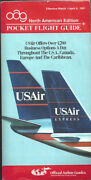 Oag Official Airline Guide North American Pocket Timetable 3/1/91 [1031]