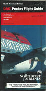 Oag Official Airline Guide North American Pocket Timetable 4/5/92 [1031]