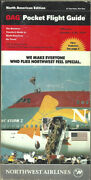 Oag Official Airline Guide North American Pocket Timetable 10/1/91 [1031]