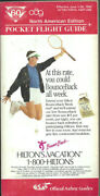 Oag Official Airline Guide North American Pocket Timetable 6/1/90 [1031]
