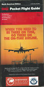 Oag Official Airline Guide North American Pocket Timetable 6/93 [1031]