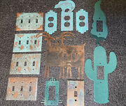 Aztec Southwestern Electrical Outlet And Light Switch Covers Copper,metal,tile