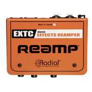 Radial Extc-stereo 2-channel Guitar Effects Interface And Reamper Box