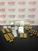 Brass Hardware For Laboratory Equipment Lot Of 100