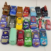 Disney Pixar Cars Huge Lot Of 20 Cars All Differnt Most Diecast Great Collection