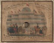 G W Faber / Interior Of The Crystal Palace In London--a View Into The Life 1851