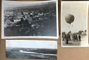 Early Flights Of Hydrogen Balloons And Biplanes In Albuquerque New Mexico