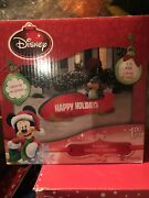 Mickey Mouse On Sled Christmas Inflatable Sold Out. Rare