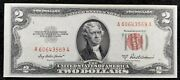 1953 A 2 Red Seal U S N Uncirculated 60643569 How Can This Be So Perfect
