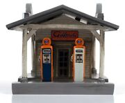 Rural Gas Station Gulf And Tires Building 187 Scale By Classic Metal Works Tc116