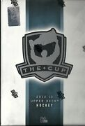 2012-13 Ud The Cup Factory Sealed Hockey Hobby Box Tory Krug Rc