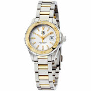 Tag Heuer 3800 Womenand039s Aquaracer Two-tone18k Gold/ss Watch Way1455.bd0922