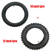 2.50-14 + 3.00-12 Inch 60/100-14 And 80/100-12 Rear Tire Tube For Yz65 Kx65 Ttr110