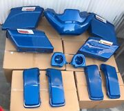 Harley Body Fairing Saddlebags And Tour Pack Kit Matching Oem Rich Sunglo Blue