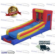 20x6.6ft Inflatable Skee Ball Carnival Sport Game With Air Blower
