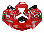 Red Injection Body Fairing Cover Kits For Ducati 748 916 996 998 Year 1996-2002