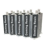 Polyurethane Doming Cartridges 50ml 11 Doming Resin For 3d Stickers Incl. Mixer