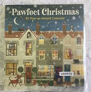 New Pawfect Christmas 3d Pop-up Advent Calendar Dogs And Cats By Babalu Inc