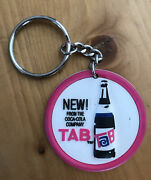 Vintage Tab Key Fob Chain New From The Coca Cola Company 2andrdquo Rare