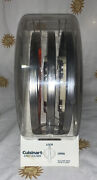 Used Cuisinart Locking Disc Holder With 3 Blades.