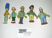 The Simpsons Wos Pin Pals Set O 4 + Marge Playmates 2002