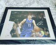Luka Doncic Autographed 16x20 Picture Psadna Af69128 Frame Is 27 Inches W X21h