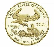In Hand American Eagle 2021 Half-ounce 1/2 Oz Gold Proof Coin Original Package