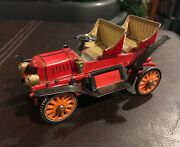 Vintage Marx Linemar 1907 Friction Ford Toy Car Automobile In Original Box.