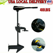 Heavy Duty Outboard 408w 40lbs Electrictrolling Motor Fish Boat Engine 12v Usa