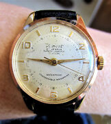 Gents 1950s Gp Dinmont Automatic Watch 25 Jewels As 1361 Adj Movt Prof Serviced