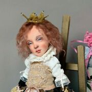 Art Dolls Ooak Princess In Chocolate Dress Other Ooak Hand Made Doll
