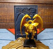 Yugioh The Winged Dragon Of Ra 2 Mattel Figurine With 3d Card Egyptian God Card