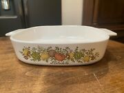 Vintage With The Rare Stamp Corning Ware Land039echalote Casserole Baking Dish