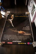 Collateral Tom Cruise 4x6 Ft Bus Shelter D/s Movie Poster Original 2004